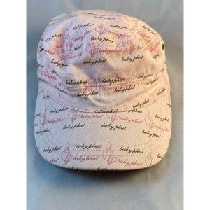 Pink Baby Phat Military Style Adjustable Cap.